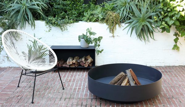 Fire pit and fire caddy